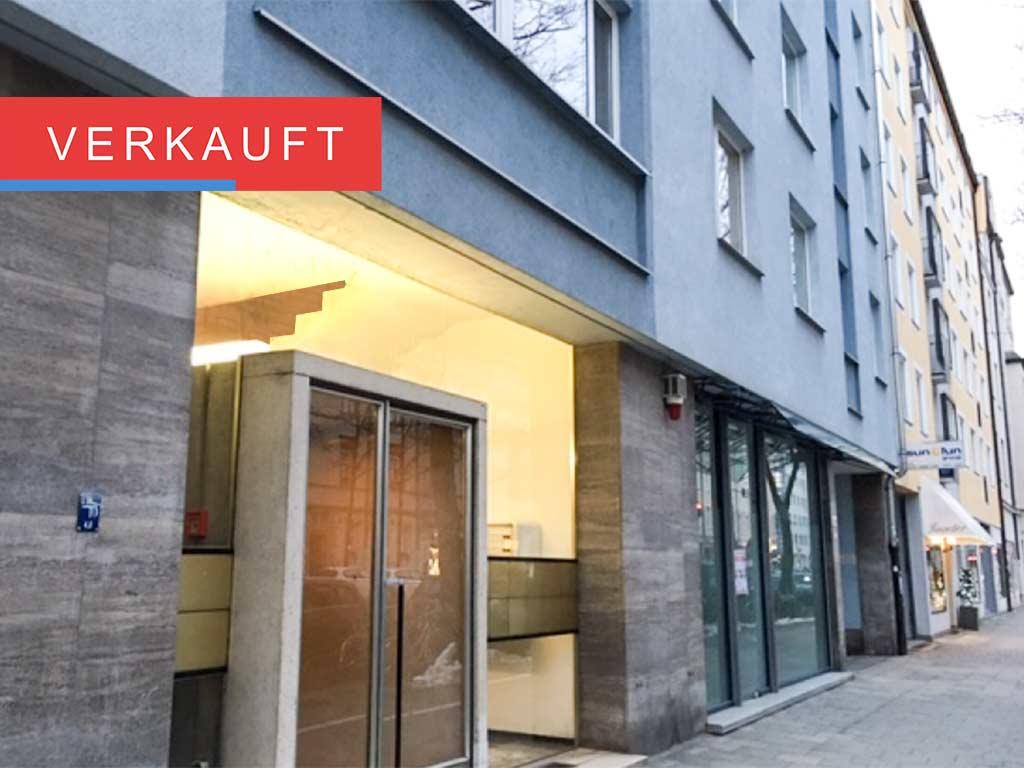 1-Zi.-Appartement in Schwabing